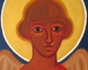 anioł prezent na chrzciny