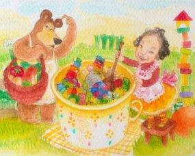urodzinowa kartka dla dziecka