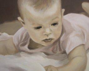 portret Jasia na chrzest