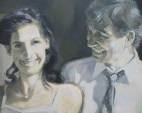 portrety ślubne ze zdjęcia