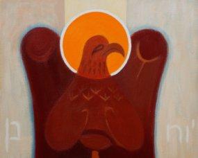 św. Jan orzeł ikona